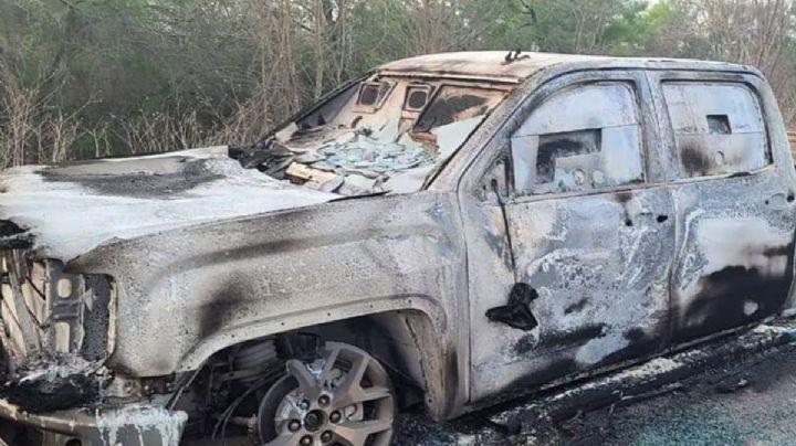 Arde Tamaulipas: Enfrentamiento armado deja 7 muertos calcinados y uno decapitado