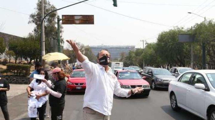 VIDEO: En plena entrevista, Alfredo Adame insulta a automovilistas; así lo critica Internet