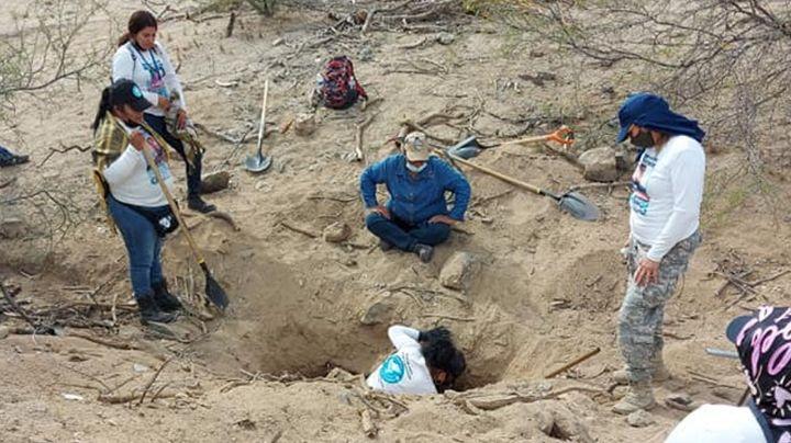 Encuentran siete cadáveres enterrados a las afueras de Hermosillo; habría un trabajador del IMSS
