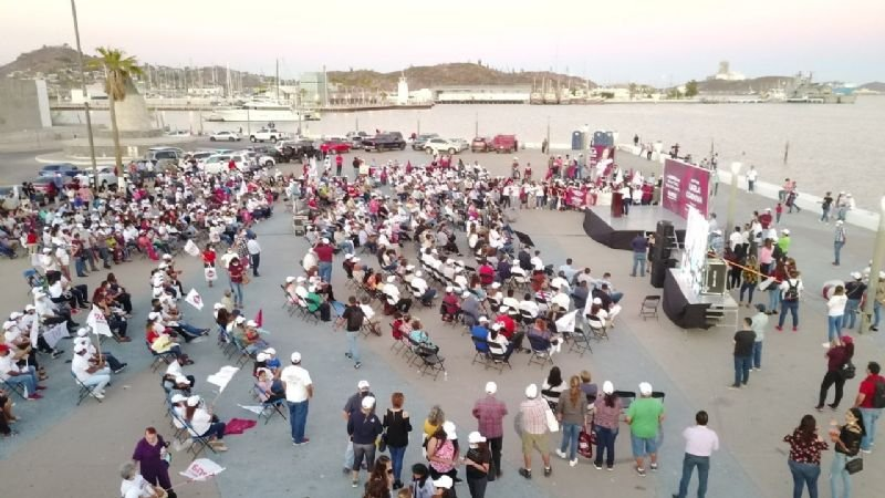 Arrancan campañas a la alcaldía en Guaymas, les piden resolver inseguridad