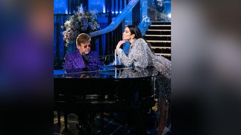 Premios Oscar 2021: Dua Lipa y Elton John ponen a bailar con increíble fiesta previa a la gala