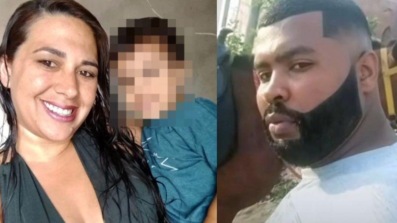 Baño de sangre: Irrumpe en casa de su ex y la mata a puñaladas mientras dormía con su bebé