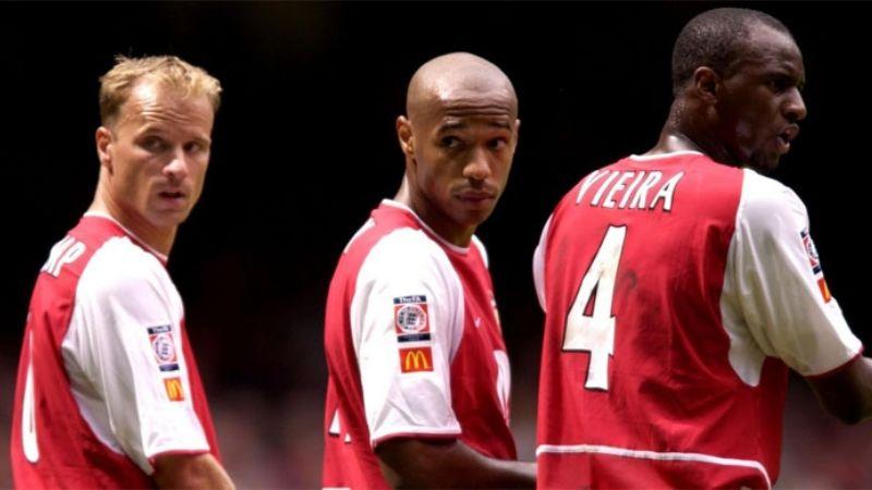 Henry, Bergkamp y Vieira se unirían con Spotify para comprar al Arsenal