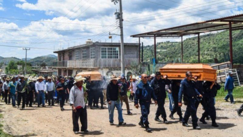 Continúan enfrentamientos armados en Sierra Sur de Oaxaca; se reportan 3 muertos