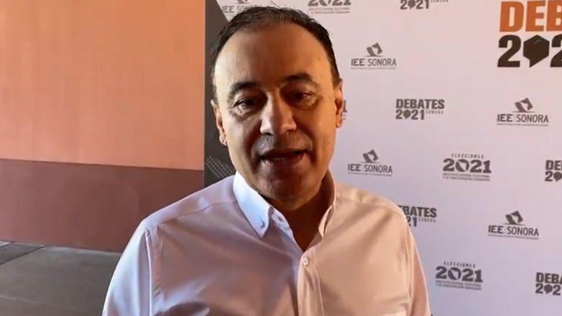 Sonora: Alfonso Durazo promete no distraerse con ataquesdurante debate entre candidatos