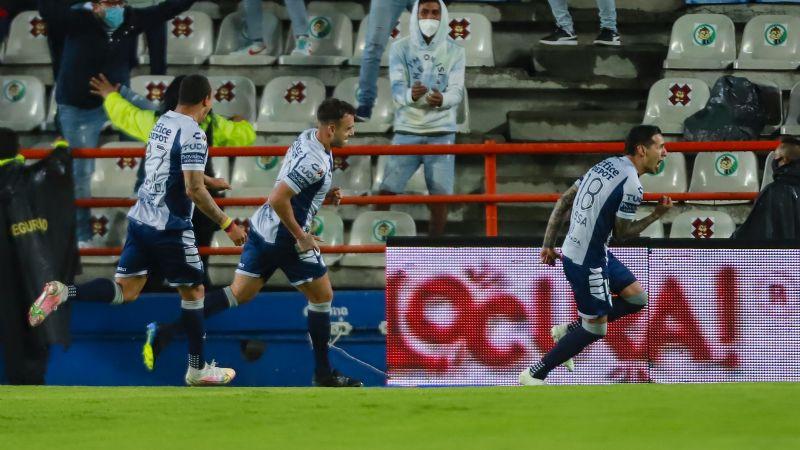 El Pachuca sorprende al Santos; mantiene la ilusión y sueña con alcanzar el repechaje