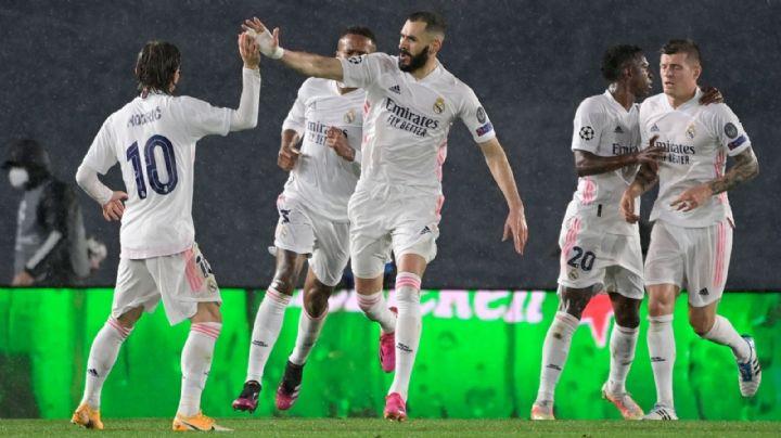 Real Madrid se salva de la derrota y sigue con vida en Champions League