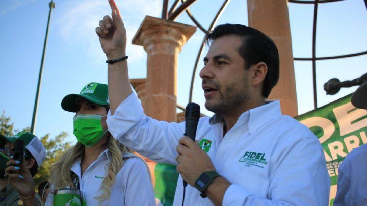 Elecciones 2021: Fidel Covarrubias apuesta por reforestación, Cajeme necesita 3 millones de árboles