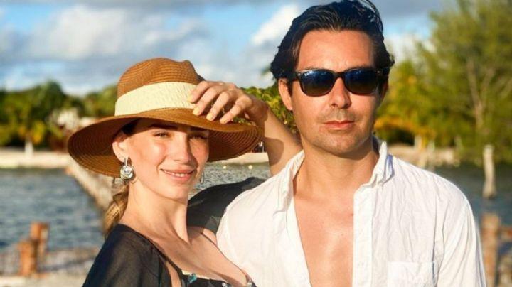 Tras dar positivo a Covid-19, suegro de Ernesto D'Alessio pasea sin cubrebocas en Cancún