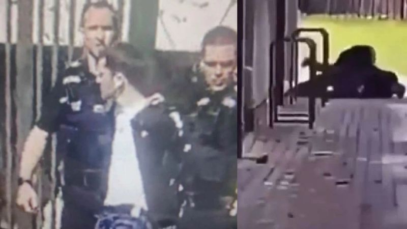 """""""Corran por sus vidas"""": Maestro arriesga su vida por sus alumnos y enfrenta a tirador en universidad"""