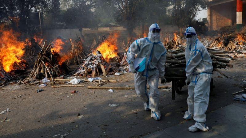 Terror en la India: Expertos informan que las muertes por Covid-19 serían 30 veces mayores