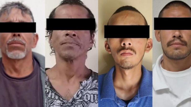 Capturan a cuatro presuntos 'tiradores' al norte de Sonora; les incautan diversas drogas