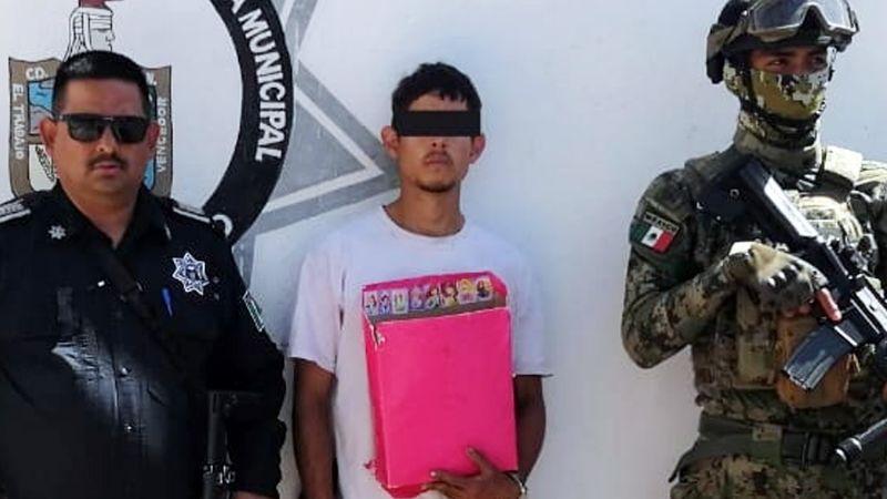 Regresó a la escuela, pero no para aprender; arrestan a ladrón en plantel de Ciudad Obregón