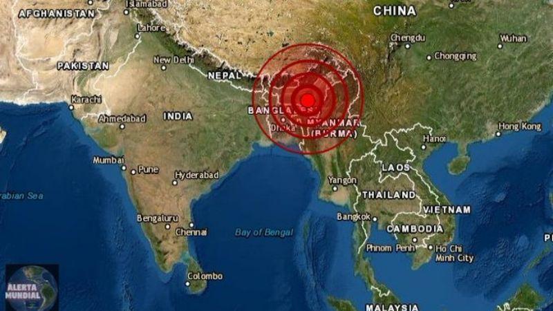 No solo es Covid-19: Fuerte sismo de magnitud 6.2 azota el noroeste de la India