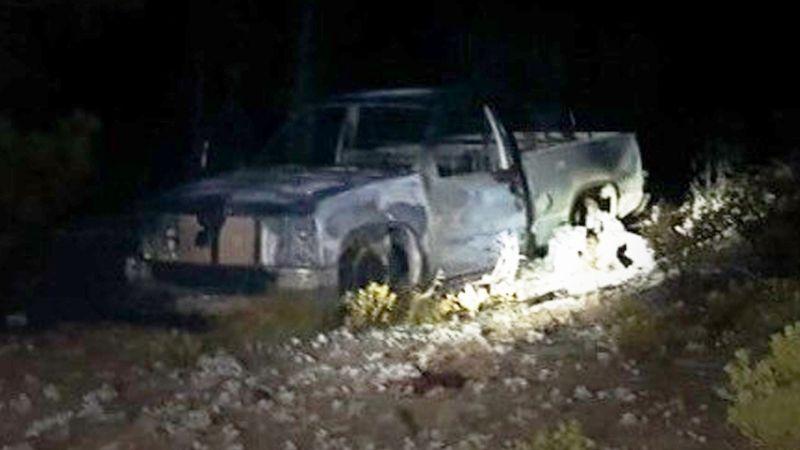 Pareja muere calcinada dentro de auto a las afueras de Ciudad Obregón; habría sido provocado