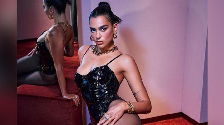 Diosa de la noche: Dua Lipa enamora todo Instagram en coqueto vestido negro