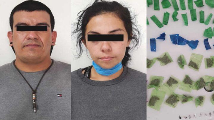 Capturan a pareja al norte de Sonora; viajaban con cargamento de marihuana, heroína y fentanilo