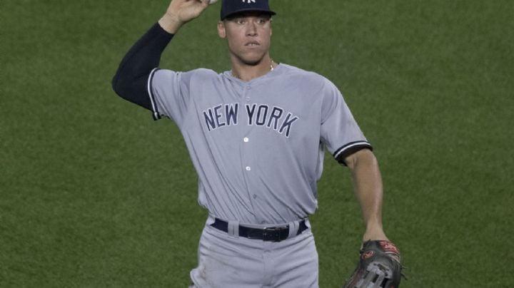 Aaron Judge queda fuera del lineup de Yankees por presentar dolores en el cuerpo