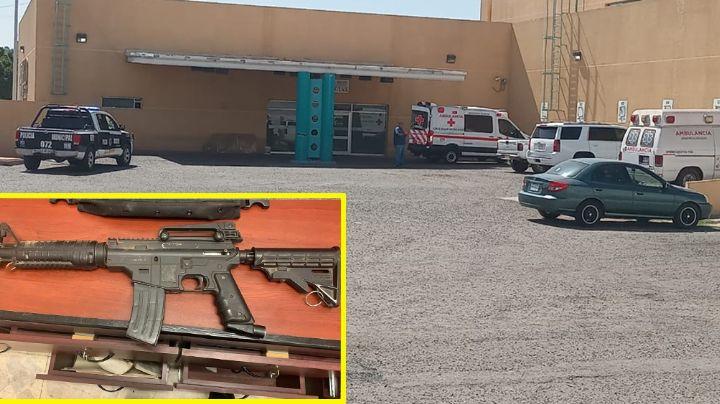 Ciudad Obregón: Muere asaltante que intentó robar camión de valores con arma falsa