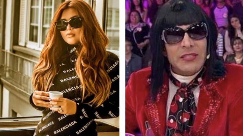 'Gomita' se somete a radical cambio de 'look' y en Instagram la comparan con personaje de 'Sabadazo'