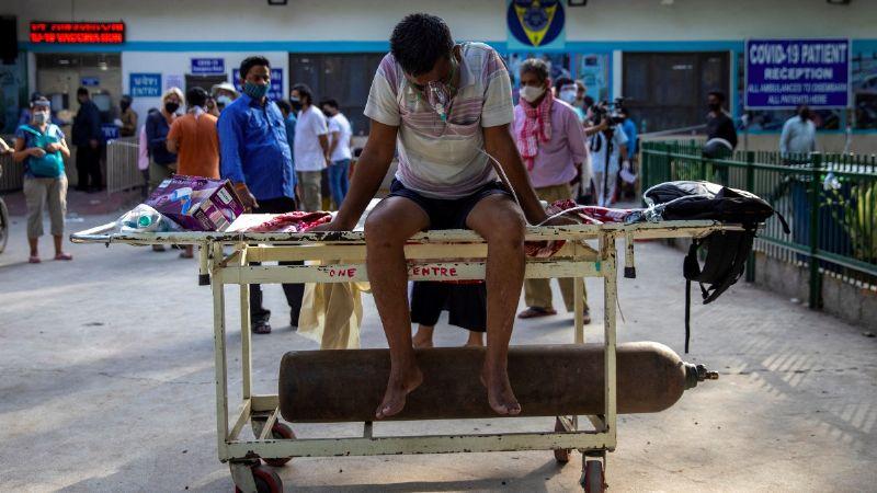 Crítico panorama por Covid-19: Piden en India usar cubrebocas aun dentro de los hogares