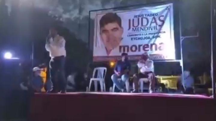 """(VIDEO) Así chantajea Morena a los adultos mayores: """"Si no votan por nosotros se acaban los apoyos"""""""