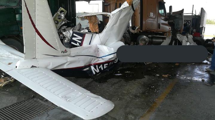 FOTOS: Se desploma avioneta en Nuevo León; se reportan seis pasajeros muertos