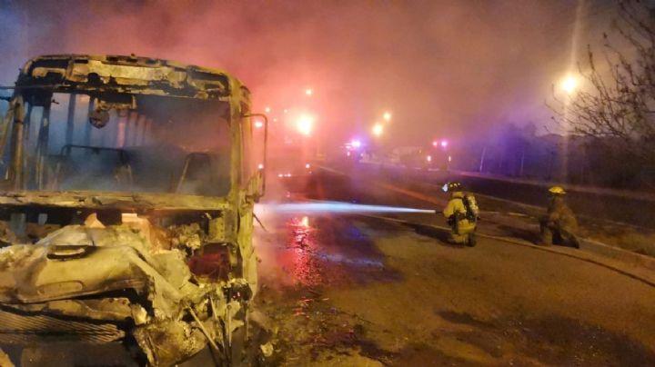 Ciudadanos de Empalme viven noche de terror entre enfrentamientos, balaceras e incendios