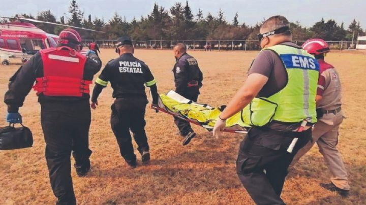 Edomex: Ladrón de casas es atrapado; lo golpean, lo bañan en alcohol y le prenden fuego