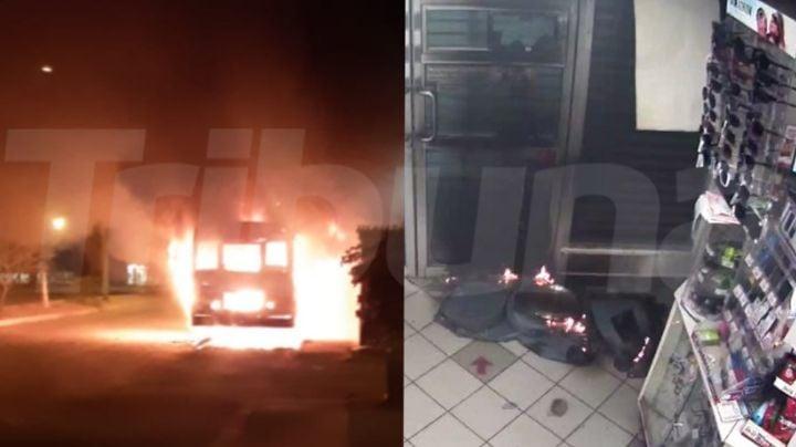 FOTOS: Así fue la noche de terror en Empalme, Sonora; hubo saqueo, incendios y enfrentamiento armado