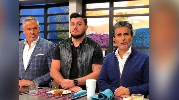"""""""Hijo de pu..."""": Raúl Araiza explota en contra de actor de Televisa; le da un empujón en 'Hoy'"""