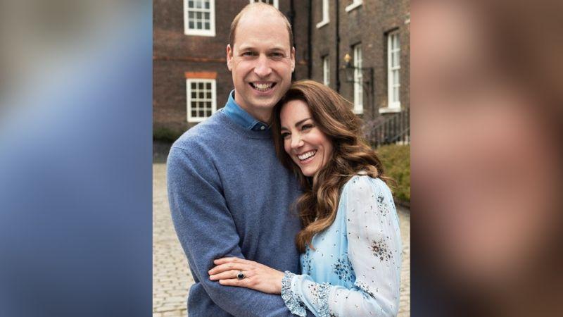 Con inusual gesto romántico, Príncipe William y Kate Middleton celebran 10 años casados