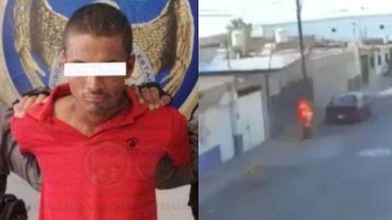 VIDEO: Cae José Rafael 'N', hombre que quemó viva a 'Estercita', anciana indigente; está grave