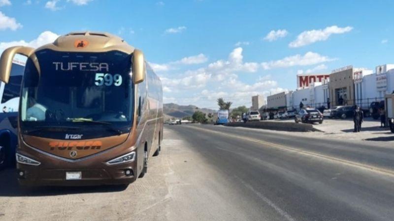 Terror en Caborca: Encuentran explosivo dentro de un autobús de pasajeros