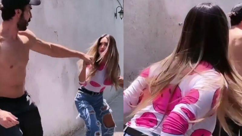Excondcutor de 'Hoy' jalonea a actriz de TV Azteca al 'discutir' en plena calle
