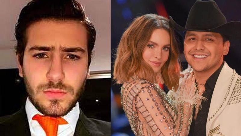 """Ignacio Peregrin confesó que """"sí pesa"""" ser el hermano de Belinda ¿en la política o por Nodal?"""