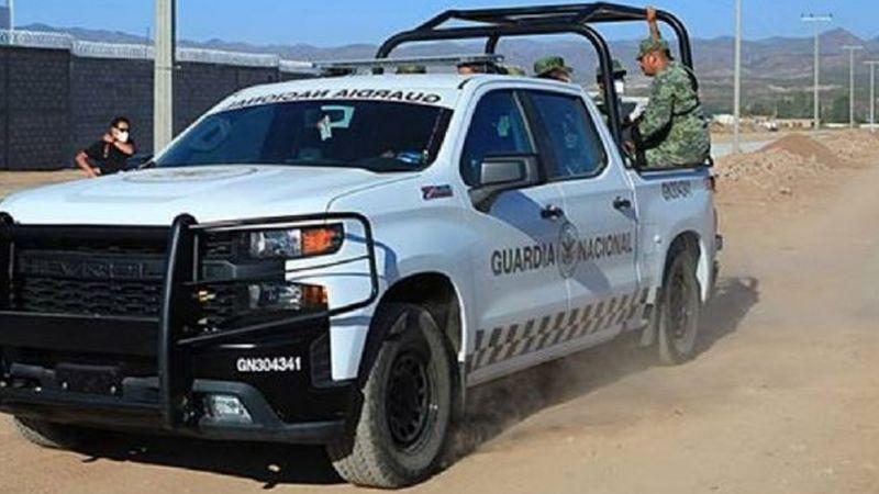 Arrestan a cuatro sicarios y decomisan armas tras enfrentamiento con Guardia Nacional en Empalme