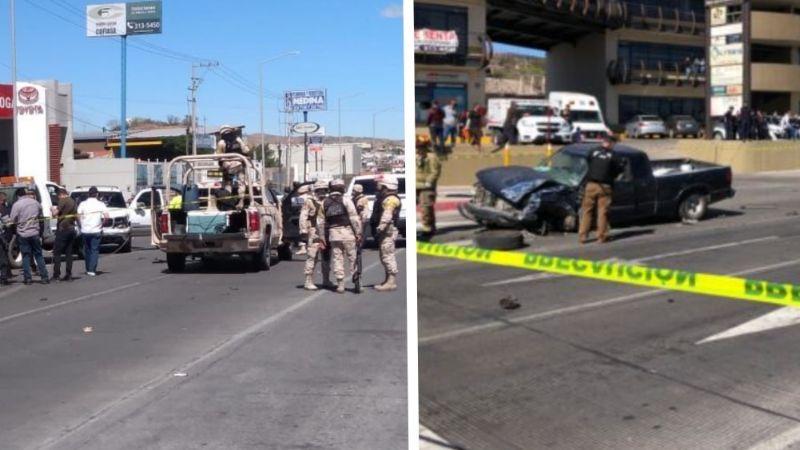 VIDEO: Brutal enfrentamiento entre militares y sicarios desata terror en Nogales; hay 4 heridos