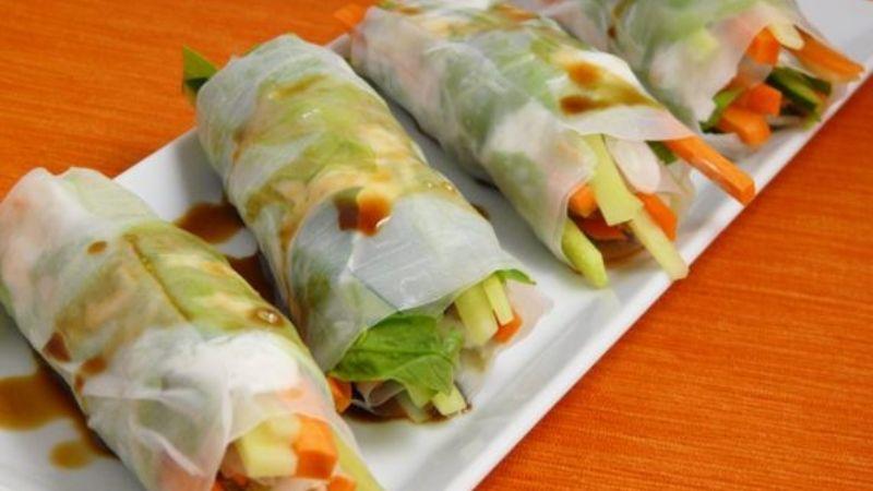 ¿Comida china saludable? Aprende a preparar estos ricos rollitos primavera fit