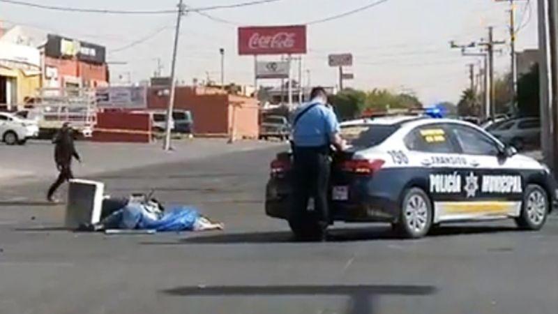 Trágico accidente: Camioneta se pasa semáforo en rojo y mata a repartidor en Ciudad Obregón