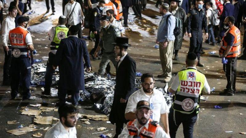 (VIDEO) ¡Tragedia! Peregrinación en Israel termina en estampida; hay al menos 38 muertos