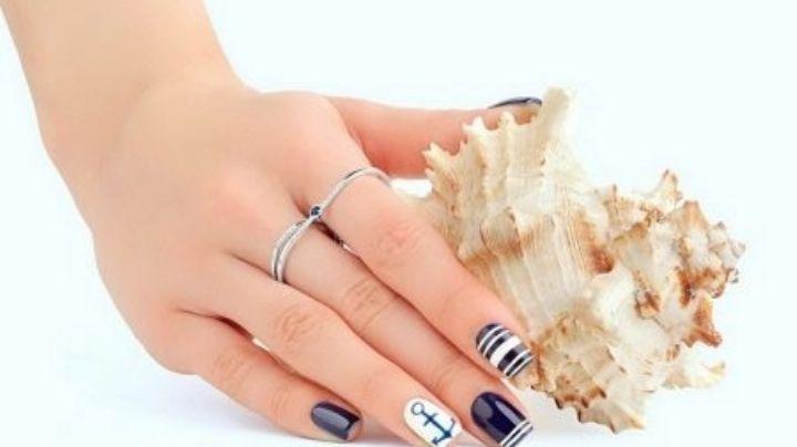 Lleva tus vacaciones hasta en las manos con estos lindos diseños de uñas