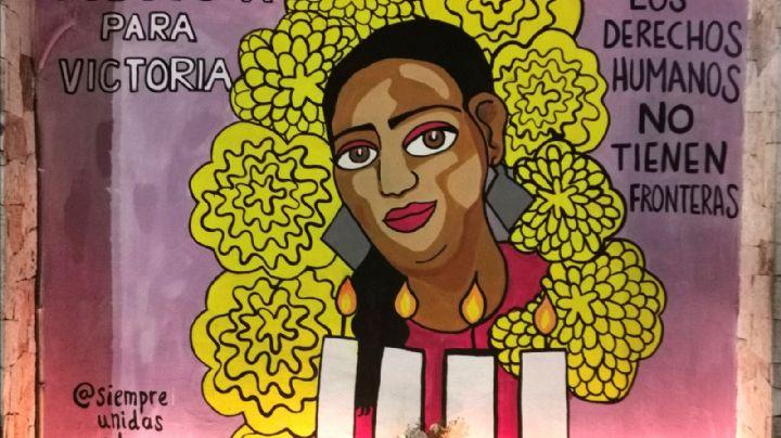 ¡Indignante! Destruyen mural en memoria de Victoria Salazar, migrante asesinada en Tulum