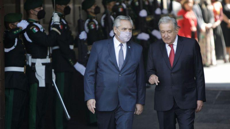 "AMLO manda buenos deseos al presidente de Argentina: ""Que te recuperes pronto amigo"""