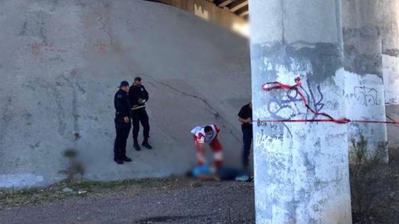 Terror en Nogales: Hallan muerto a hombre debajo de puente; estaba golpeado y ensangrentado