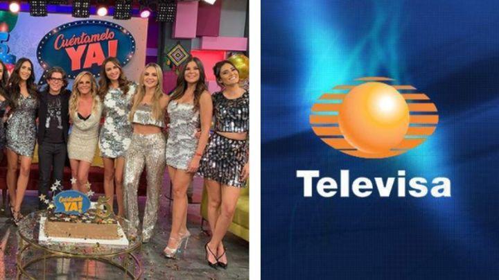 Adiós Televisa: Famosa conductora de 'Cuéntamelo YA!' deja el programa por proyecto ¿en TV Azteca?