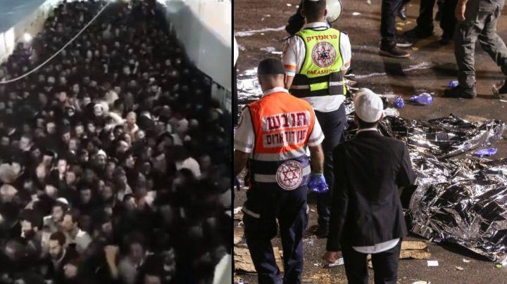 FUERTE VIDEO: Así fue la brutal estampida en festival religioso; van 45 muertos y 150 heridos