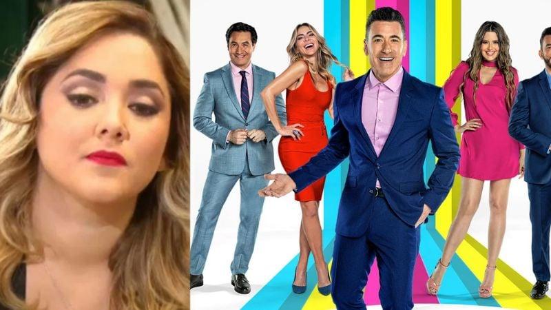 Sherlyn, actriz de Televisa, se harta y explota contra 'Suelta la Sopa' por buscarle papá a su hijo
