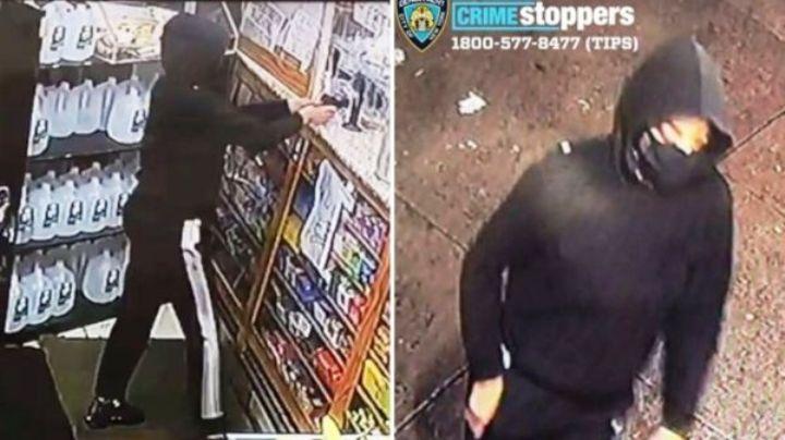 VIDEO: Mujer entra a una tienda y agrede a balazos a los dependientes: Policía ya la busca