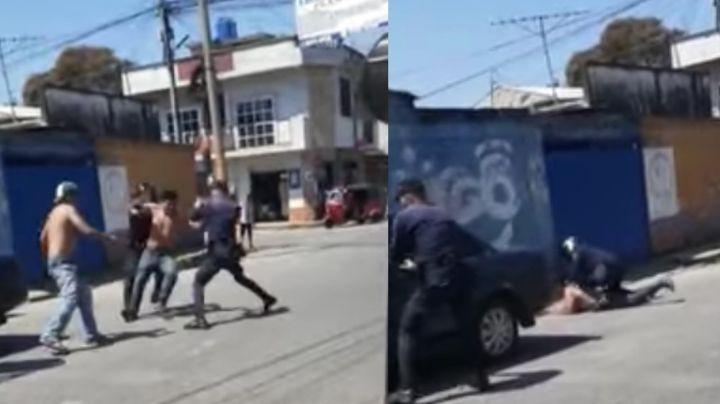 """""""¡Ya lo mató!"""": Borracho atropella a su amigo y a un policía al intentar huir; filtran el brutal VIDEO"""